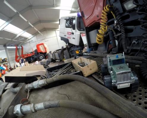 Teherautó javítás - szervizelés